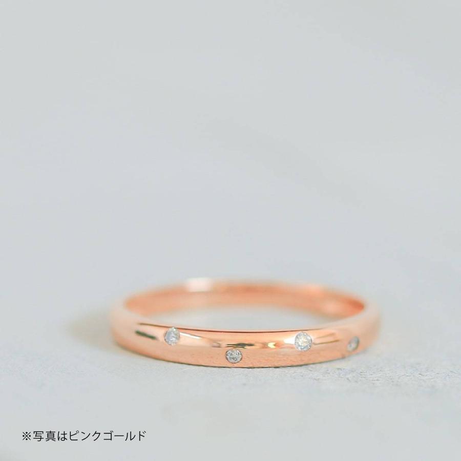 イエローゴールド ダイヤモンド リング k10 イエローゴールド/ホワイトゴールド/ピンクゴールド ファッション 日本製 新生活 母の日 ギフト プレゼント|cococaru|03