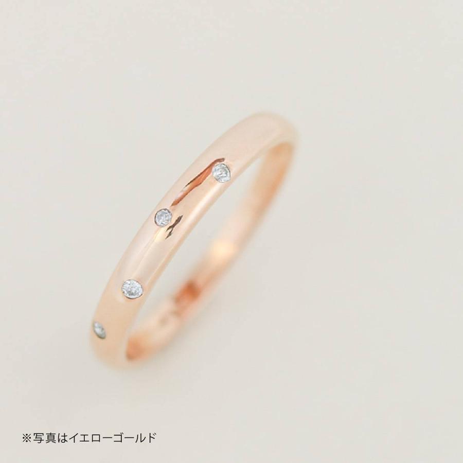 イエローゴールド ダイヤモンド リング k10 イエローゴールド/ホワイトゴールド/ピンクゴールド ファッション 日本製 新生活 母の日 ギフト プレゼント|cococaru|04