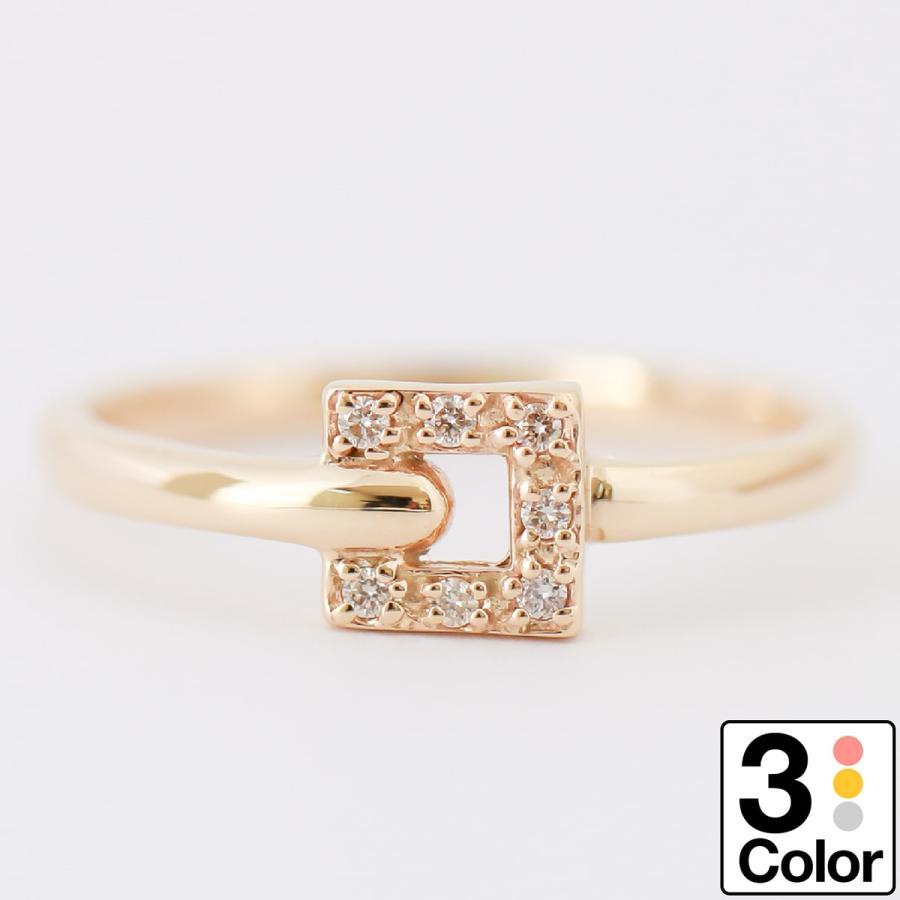 リング 【指輪】 日本製 【リング】 【メール便発送のみ送料無料】 【ダイヤモンド】 指輪 K10ゴールド 【ゴールド】 天然ダイヤモンド
