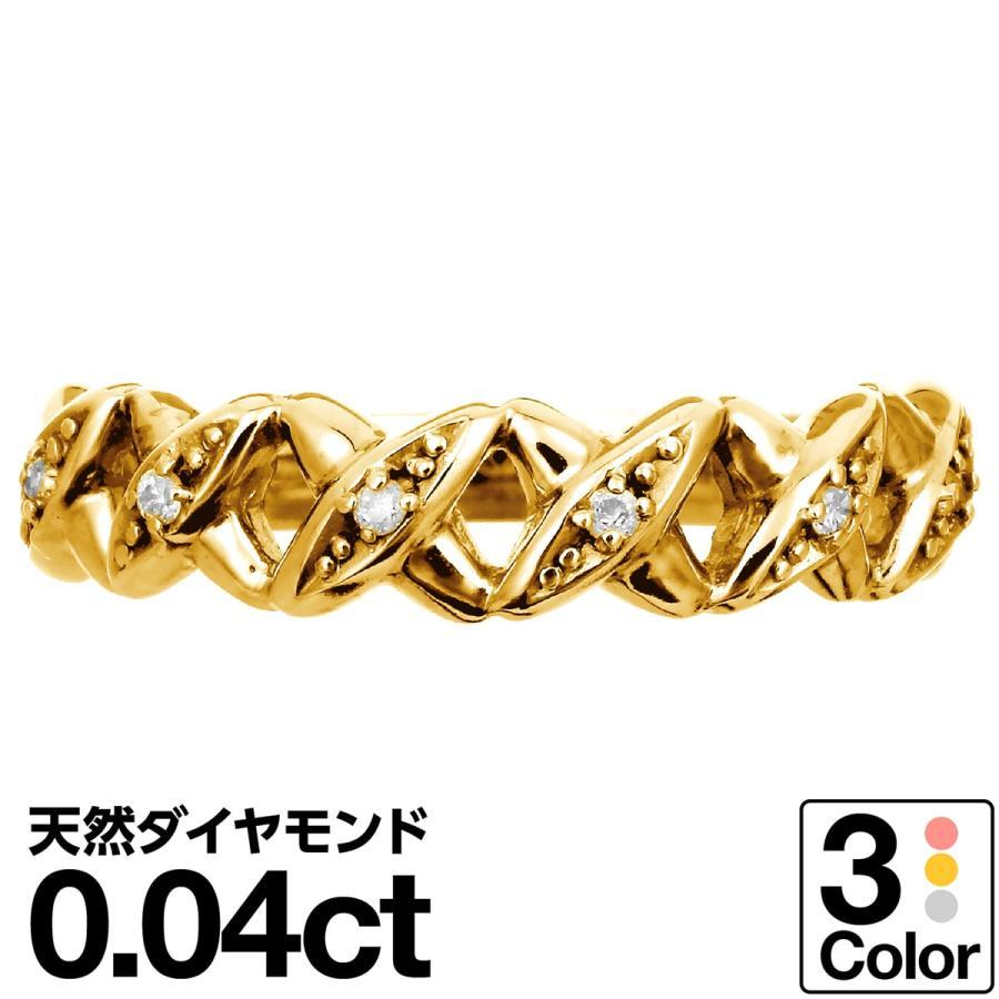 高質 ピンクゴールド ダイヤモンド リング k10 イエローゴールド/ホワイトゴールド/ピンクゴールド ファッションリング 金属アレルギー 日本製 新生活 ギフト, お米専門店 とよみや d887a7bb