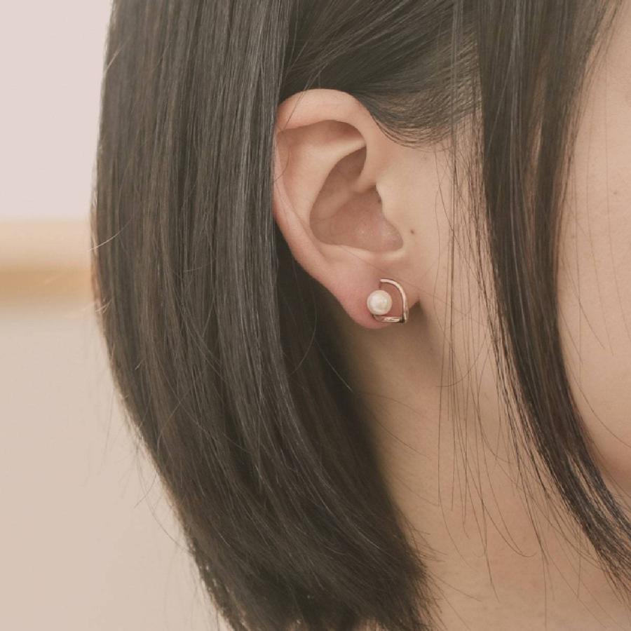 ピアス 淡水パール k10 イエローゴールド/ホワイトゴールド/ピンクゴールド 金属アレルギー 日本製 新生活 母の日 ギフト プレゼント|cococaru|06