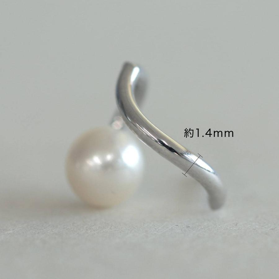 ピアス 淡水パール k10 イエローゴールド/ホワイトゴールド/ピンクゴールド 金属アレルギー 日本製 新生活 母の日 ギフト プレゼント|cococaru|08