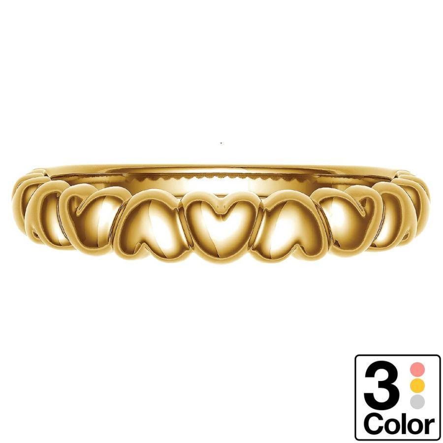 大特価 地金 リング k10 イエローゴールド/ホワイトゴールド/ピンクゴールド ファッションリング 品質保証書 金属アレルギー 日本製 新生活 ギフト, 素敵を売るブティックCOUP 8dddbe79