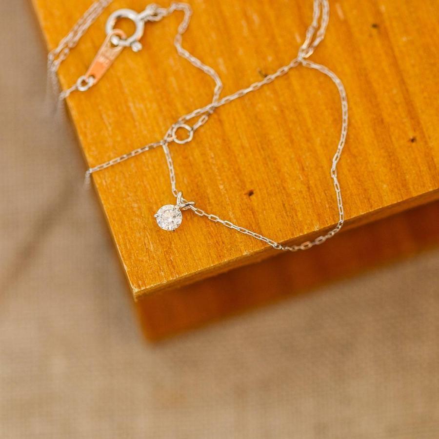 ネックレス k10 一粒 ダイヤモンド 選べるデザイン イエローゴールド/ホワイトゴールド/ピンクゴールド 金属アレルギー 日本製 新生活 母の日 ギフト プレゼント|cococaru|04