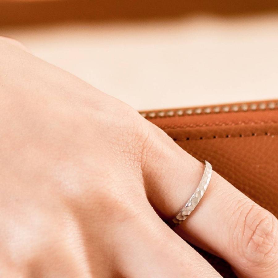 地金 リング k10 イエローゴールド/ホワイトゴールド/ピンクゴールド ファッションリング 金属アレルギー 日本製 ホワイトデー ギフト プレゼント|cococaru|04