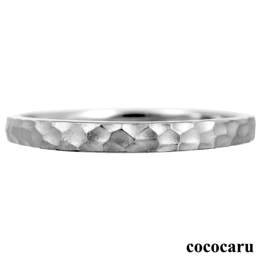 地金 リング プラチナ900 ファッションリング 金属アレルギー 日本製 ホワイトデー ギフト プレゼント|cococaru
