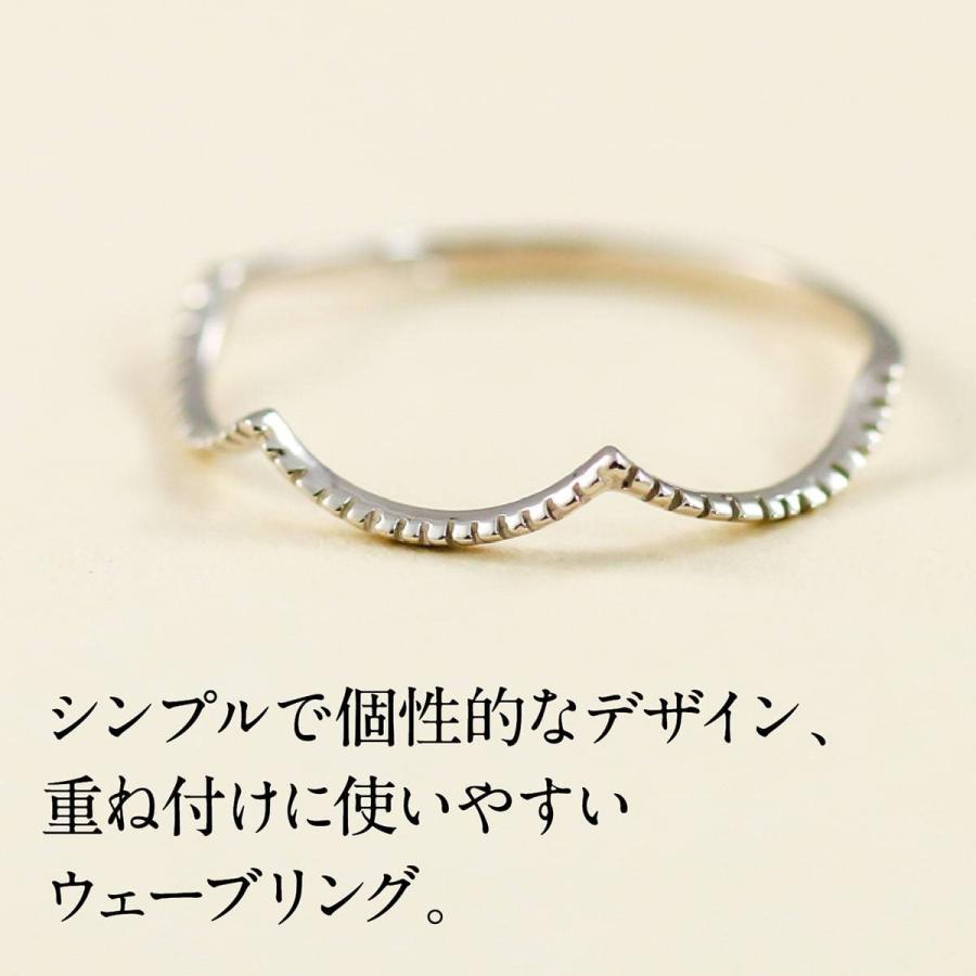 地金 リング k10 イエローゴールド/ホワイトゴールド/ピンクゴールド ファッションリング 品質保証書 金属アレルギー 日本製 ホワイトデー ギフト プレゼント|cococaru|02