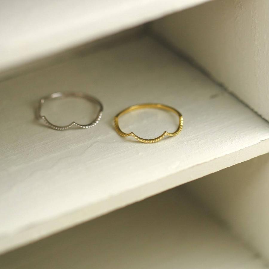 地金 リング k10 イエローゴールド/ホワイトゴールド/ピンクゴールド ファッションリング 品質保証書 金属アレルギー 日本製 ホワイトデー ギフト プレゼント|cococaru|03