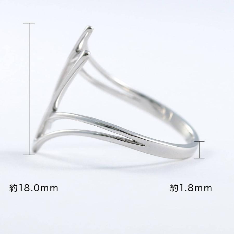 地金 リング シルバー925 シルバーリング ファッションリング 品質保証書 金属アレルギー 日本製 ホワイトデー ギフト プレゼント|cococaru|07