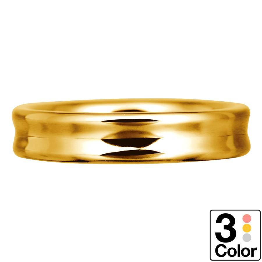 【限定品】 地金 リング k18 イエローゴールド/ホワイトゴールド/ピンクゴールド ファッションリング 品質保証書 金属アレルギー 日本製 新生活 ギフト, フォーマルドレスshopドレスモード c2bd163a