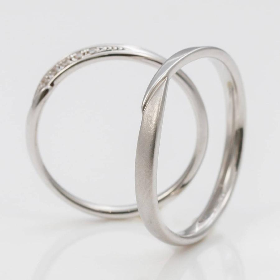 ペアリング 2本セット 天然ダイヤ 安い シルバー925 ダイヤモンド 金属アレルギー 日本製 ホワイトデー ギフト プレゼント|cococaru|04