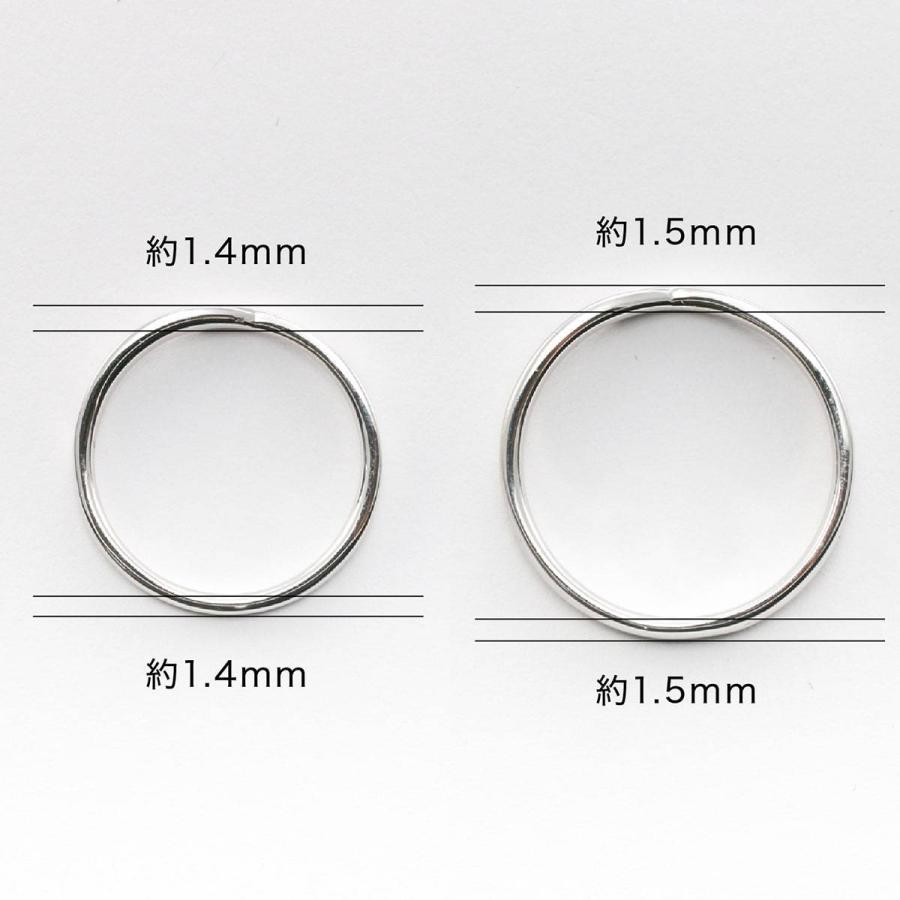 ペアリング 2本セット 天然ダイヤ 安い シルバー925 ダイヤモンド 金属アレルギー 日本製 ホワイトデー ギフト プレゼント|cococaru|09