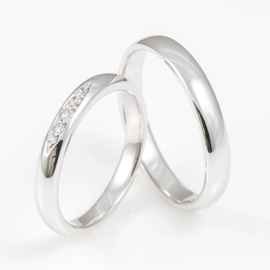 ペアリング 2本セット 天然ダイヤ 安い k18 イエローゴールド/ホワイトゴールド/ピンクゴールド ダイヤモンド 日本製 ホワイトデー ギフト プレゼント|cococaru|02