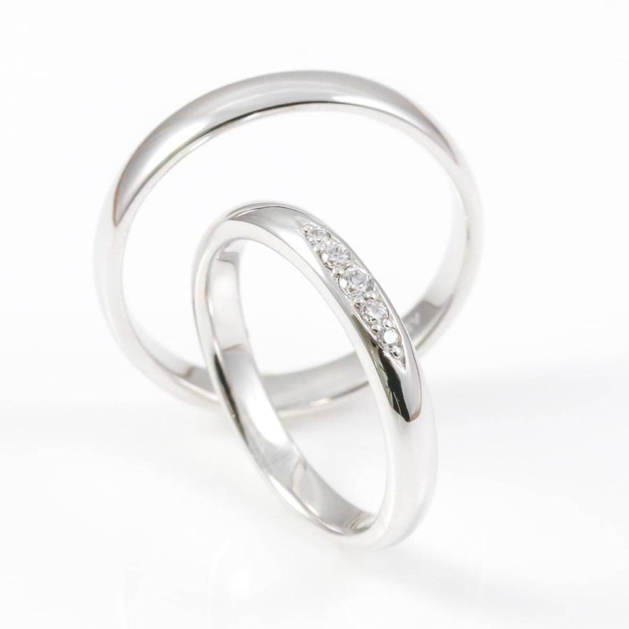 ペアリング 2本セット 天然ダイヤ 安い k18 イエローゴールド/ホワイトゴールド/ピンクゴールド ダイヤモンド 日本製 ホワイトデー ギフト プレゼント|cococaru|03