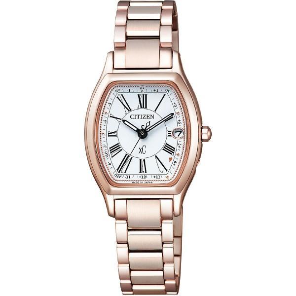 シチズン 腕時計 クロスシー ES9354-51A Citizen レディース xC エコ·ドライブ電波時計 ティタニアライン ハッピーフライト 新品 国内正規品