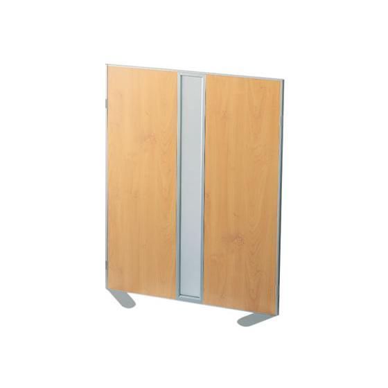 コクヨ/ホームパーティション 窓付き プリント紙 W900×H1200 木目