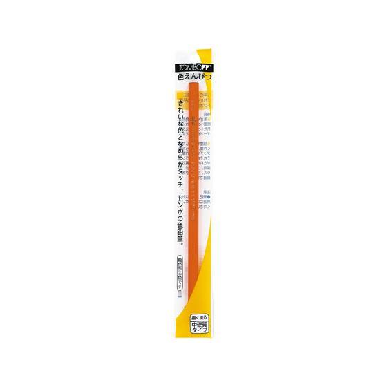 トンボ鉛筆 色鉛筆 大特価 1500 橙 BCX-128 公式