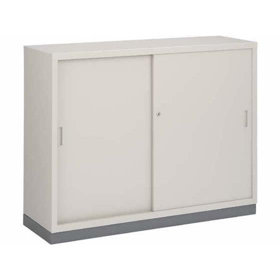 コクヨ/保管庫浅型 コクヨ/保管庫浅型 下置き 引違い戸 W1200*D400*H880
