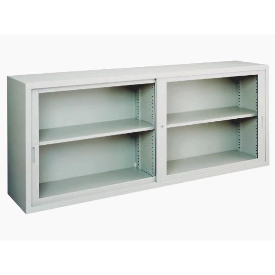 コクヨ/A4対応保管庫 上置き 上置き 引違いガラス戸 W1760*H730
