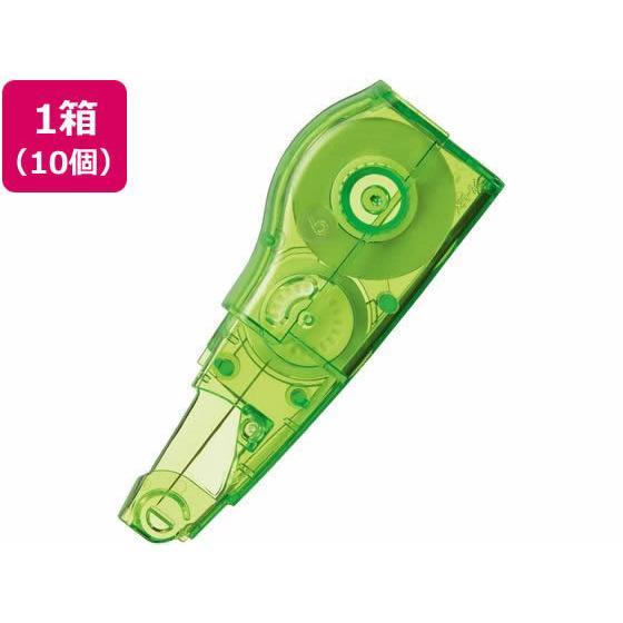 プラス/ホワイパーミニローラー 交換テープ6mm グリーン  10個/43-930|cocodecow
