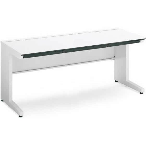 コクヨ/iSスタンダードテーブル(センター引出付)W1600×D700 ホワイト