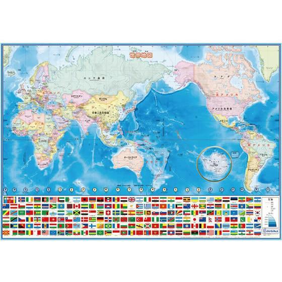 正規品スーパーSALE×店内全品キャンペーン デビカ 当店一番人気 いろいろ書ける 消せる 世界地図 073102