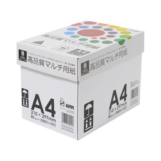 半額 APPJ インクジェット対応 高品質マルチ用紙A4 500枚×5冊 日本正規品