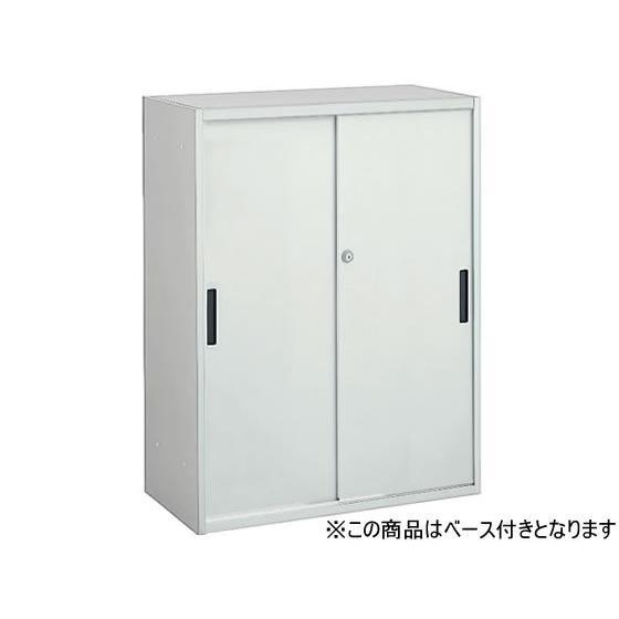 オカムラ/VILLAGE VS収納 VS収納 2枚引違い 下置き H1100 ホワイト