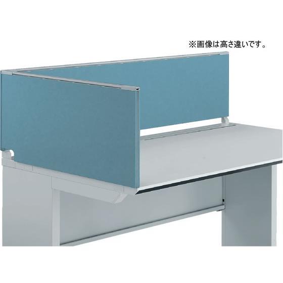 コクヨ/iSデスク デスクトップパネル エンドパネル H500*D750ホワイトブルー H500*D750ホワイトブルー