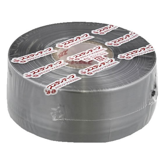 タキロンシーアイ化成 スズランテープ 50mm×470m オープニング 大放出セール 銀 定番