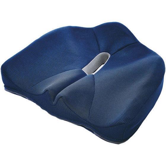 コジット 腰痛対策クッション ネイビー 割り引き 93450 激安通販ショッピング
