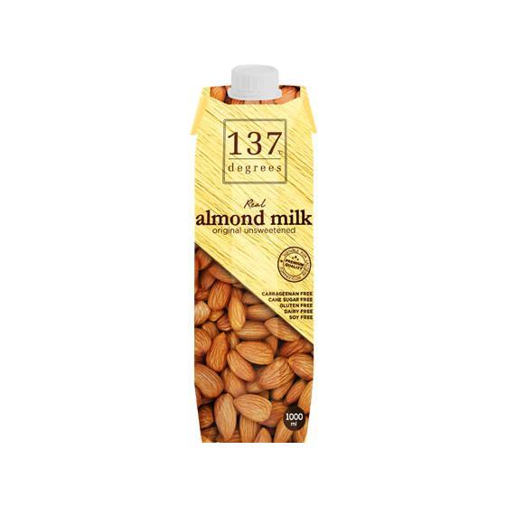 ハルナプロデュース 137degrees 国内在庫 超激安特価 アーモンドミルク甘味不使用 1L