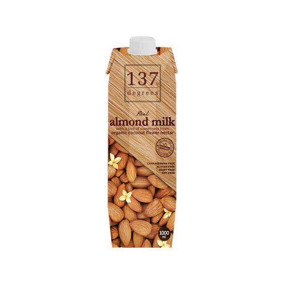 超人気 専門店 ハルナプロデュース 137degrees 激安卸販売新品 1L アーモンドミルクオリジナル