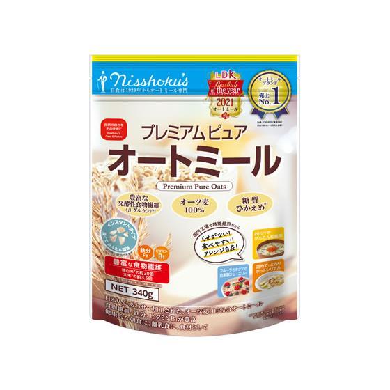 日本食品製造 高品質 プレミアムピュアオートミール 011176 高級品 300g
