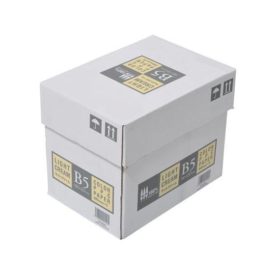 APPJ カラーコピー用紙 スーパーセール期間限定 ライトクリーム 500枚×5冊 CPS004 B5 贈答品