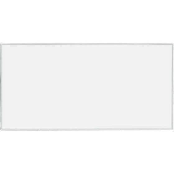 メーカー直送 馬印 ホーロー製ホワイトボード 割引 無地 白アルミ枠 代引不可 モデル着用 注目アイテム MR36 1810×910mm お客様組立