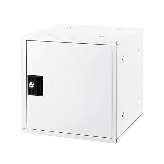 お取り寄せ アスカ 最安値挑戦 組立式シューズボックス ホワイト 新品 SB800W シリンダー錠タイプ