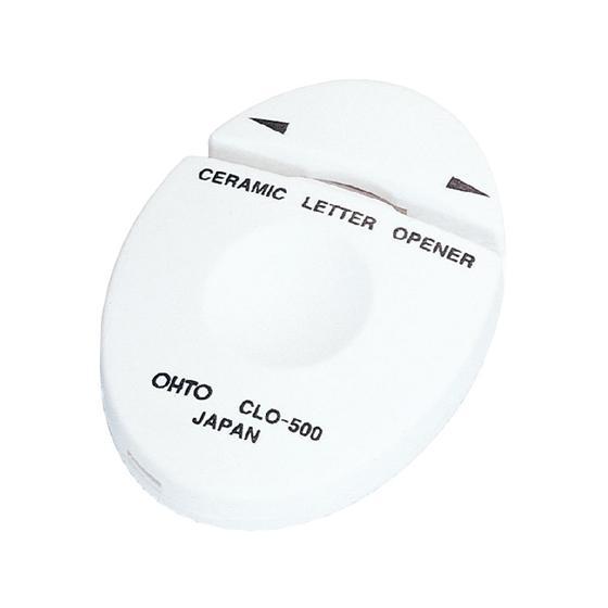 オート 公式ストア セラミックレターオープナー 白 特価品コーナー☆ CLO-500シロ