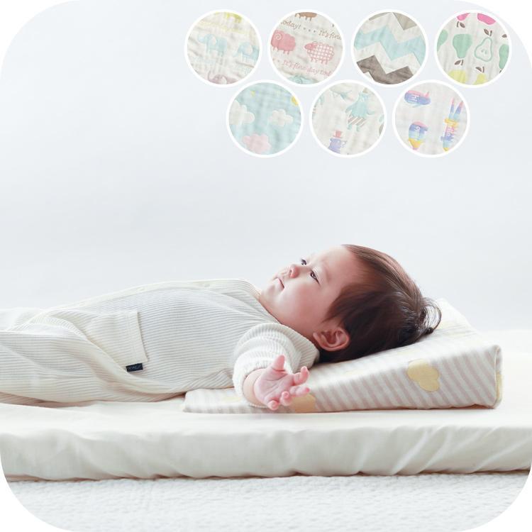 ベビー枕 日本製 洗える 吐き戻し防止 サンデシカ 定番スタイル 全商品オープニング価格 スリーピングピロー 幅50cm まくら 新生児 6重ガーゼ 送料無料 赤ちゃん ココデシカ