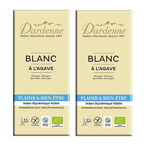 ダーデン アガベチョコレート ホワイト×2個組|coconatural