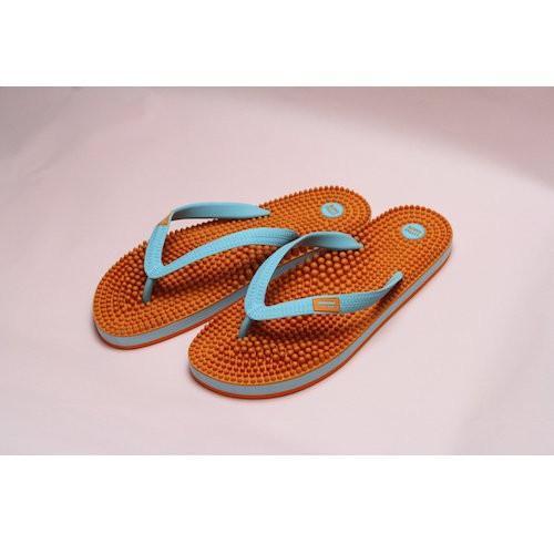 リトルアース ボディポップ(body+pop) ビーチ(BeacH) 5002 オレンジ/ターコイズ 26cm|coconatural