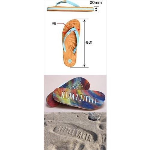 リトルアース ボディポップ(body+pop) ビーチ(BeacH) 5002 オレンジ/ターコイズ 26cm|coconatural|05
