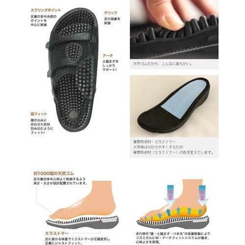 リトルアース ボディポップ(body+pop) ウォーク(Walk) 1403 ブラック24cm(サイズ目安:23.5〜24.5)|coconatural|03