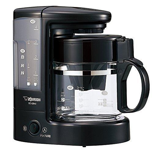 象印 コーヒーメーカー 4杯用 EC-GB40-TD coconina