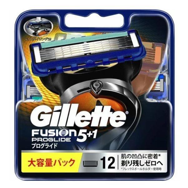 今だけ在庫限り送料無料 ジレット フュージョン プログライド 5 今季も再入荷 12個入 替刃 gl12 1 実物