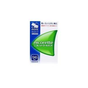 休み 指定第2類医薬品 禁煙補助剤 ニコレット 96粒 クールミント 宅配便送料無料