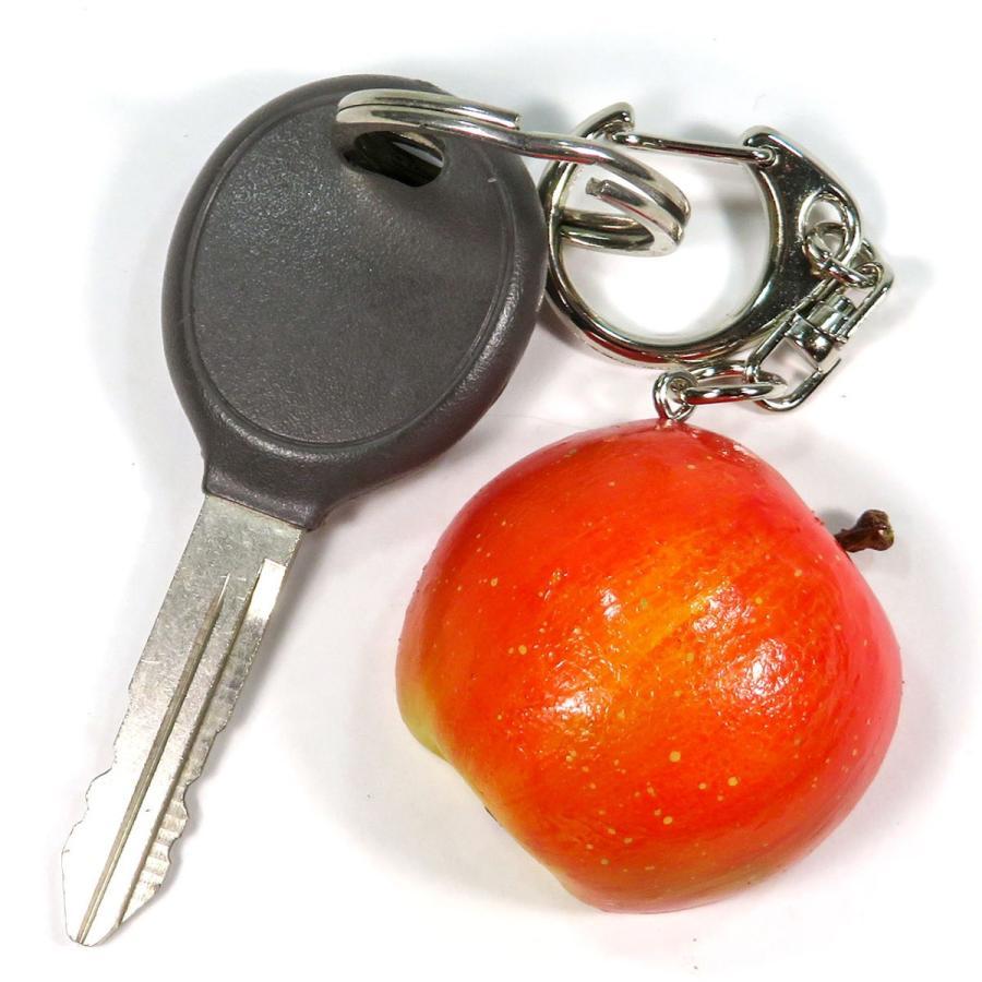 食べちゃいそうな 半分 りんご 食品サンプル キーホルダー ストラップ マグネット フルーツ 果物|coconuts-ac|02