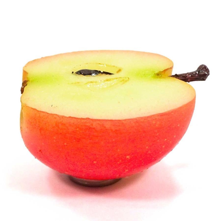食べちゃいそうな 半分 りんご 食品サンプル キーホルダー ストラップ マグネット フルーツ 果物|coconuts-ac|11
