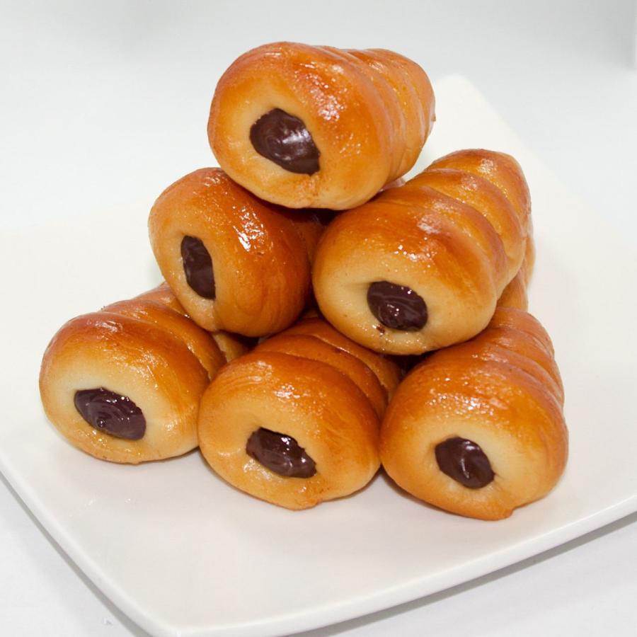 食べちゃいそうな チョココロネ 食品サンプル キーホルダー ストラップ coconuts-ac 04