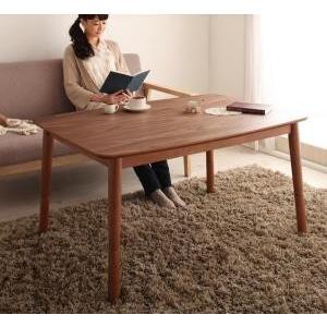 4段階で高さが変えられる 天然木ウォールナット材高さ調整こたつテーブル 低価格 Nolan 75×105cm 長方形 引き出物 ノーラン